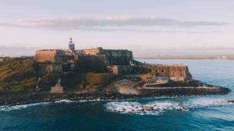 Castillo San Felipe del Morro, em San Juan, Porto Rico
