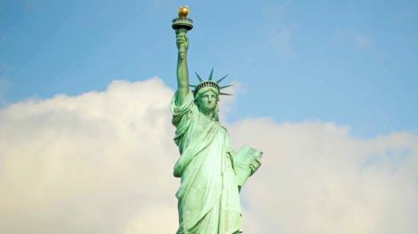 A Estátua da Liberdade, um ícone da cidade de Nova York