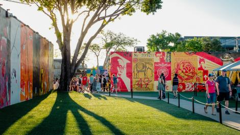 Explorando a arte pública no bairro de Wynwood, em Miami, Flórida