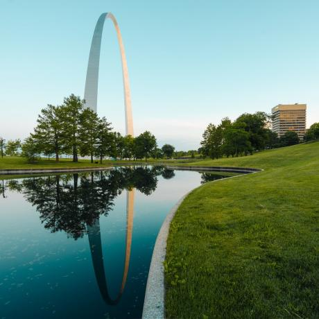 Gateway Arch National Park em St. Louis, Missouri
