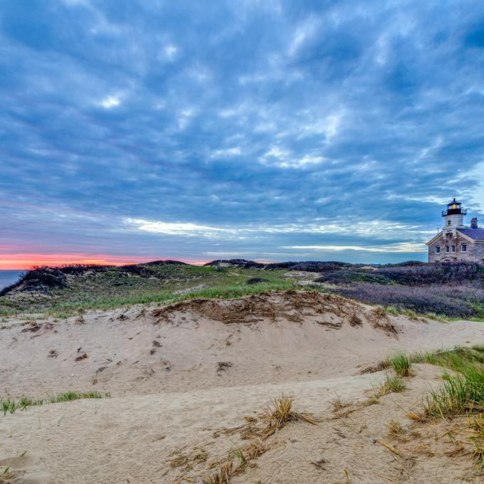 Block Island North Light em Rhode Island