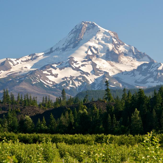 Mt. Hood no Oregon