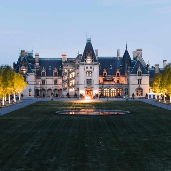 O Biltmore Estate em Asheville, Carolina do Norte