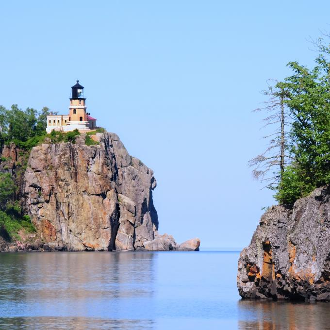 Split Rock Lighthouse em Two Harbors, Minnesota