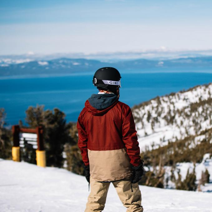 Aventura de tirolesa sobre o Lago Tahoe no Heavenly Mountain Resort em Nevada