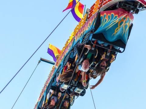 Outra perspectiva da State Fair of Louisiana