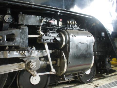 Um histórico trem a vapor em Cheyenne