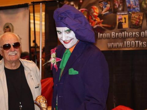 O Coringa marca presença na Cheyenne Comic Con