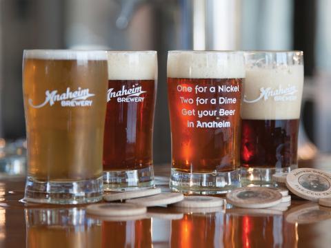 A cerveja artesanal contribui com o divertido Sabores de Anaheim