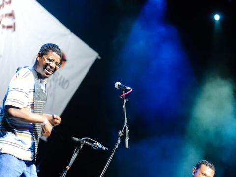 Live music performance during the Marshland Festival