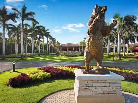 PGA National Golf Club, sede do torneio de golfe Honda Classic, em Palm Beach Gardens, Flórida