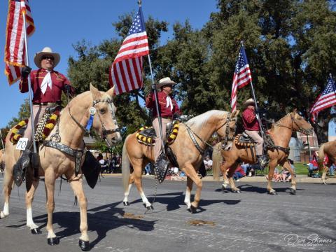 Pioneer Day Parade, em Paso Robles, Califórnia